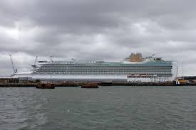 Azura Azura Cruise 2010 Day 1 Southampton Simplon Postcards Www