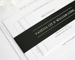 Traditional Wedding Invitation Cards Traditional Wedding Invitations In Black And White U2013 Wedding