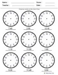 371 best fichas reloj images on pinterest watch math and