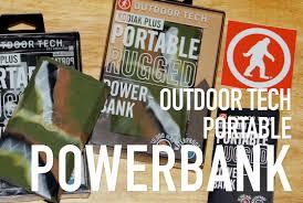 Outdoor Tech Unboxing Outdoor Tech Kodiak Plus Powerbank Youtube