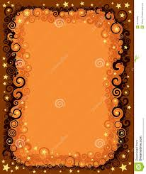 seamless fall halloween border stock vector image 39113862