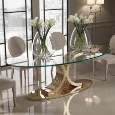 dining tables glass top dining table set 6 chairs glass kitchen