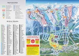 Squaw Trail Map Kicking Horse Bc Trail Map Webcams