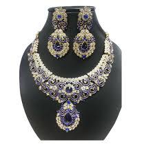 necklace set blue stone images Blue stone necklace set by amarsons jewels necklace sets jpg