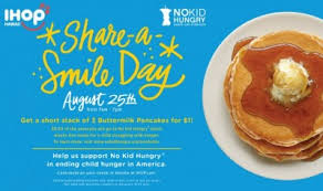 ihop black friday ihop short stack of pancakes only 1 on august 25th