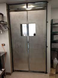 Kitchen Saloon Doors Commercial Kitchen Swinging Doors Lightweight Commercial Aluminum