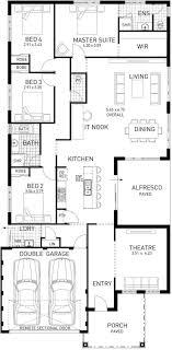 foundation floor plan north hton single storey foundation floor plan western