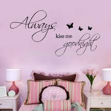 12 24 always kiss me goodnight butterflies diy removable art 12 24 always kiss me goodnight butterflies diy removable art vinyl quote wall sticker decal mural home decoration decal for walls decal house from lin860