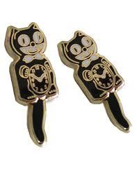 cat earrings kit cat earrings kitcatclock