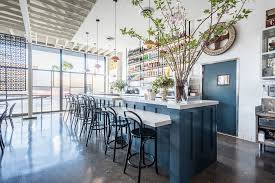 the dining room santa monica lunetta all day takes a sunny slice of the santa monica scene