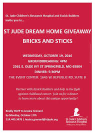Dream Home Builder Groundbreaking Time For The 2017 St Jude Dream Home Essick
