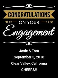 congratulations engagement banner mezzacorona pinot grigio congratulations engagement banner