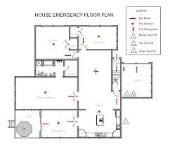 fire exit floor plan template house plan template house plan flyer visio floor plan shapes