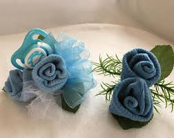 Corsage And Boutonniere Prices Baby Sock Corsage Etsy