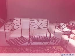 chaises en fer forgé chaises fer forgé a vendre à arlon 2ememain be
