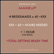 makeup artists needed how much time do you need for your wedding hair and makeup