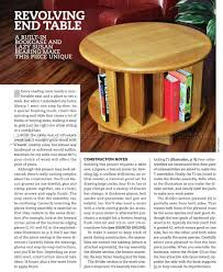 Woodworking Plans Rotating Bookshelf by Revolving End Table Plans U2022 Woodarchivist