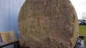 How To Make A Hay Bail Blind Bale Blind For Deer Hunting Youtube