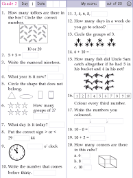 math a day grade 2 lessons tes teach