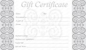Free Printable Gift Certificate Template Word Printable Gift Card Template Gift Certificate Template 42