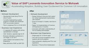 digital business u0026 business analytics sap leonardo is not a