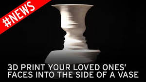 Vase Face 3d Printing Lets You Put Your Face In A Custom Made Vase Mirror