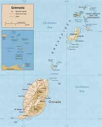 grenada location on world map grenada