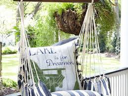swing in style with this comfortable outdoor chair southern living