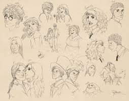 harry potter sketches by palnk on deviantart