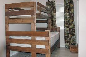 delightful twin over full bunk bed plans free diy bunk bed twin