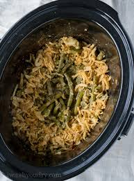 crock pot green bean casserole i wash you