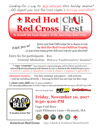 red red cross chili fest 11 10 cape cod beer cape cod beer