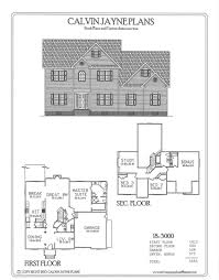 calvin jayne plans two story 3508 6337 sq ft
