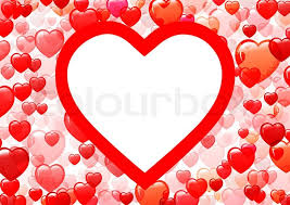 different shades of red background with different shades of red from the hearts stock