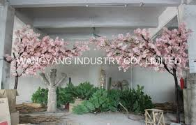 china popular pink artificial tree arch china