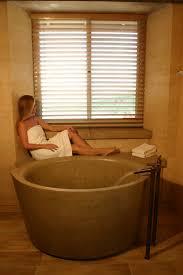 Freestanding Soaking Tubs Bathroom Elegant Round Japanese Copper Soaking Tub With Luxury
