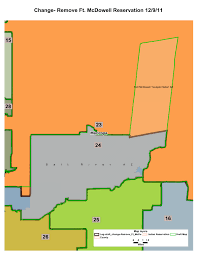 Winslow Arizona Map by Proposed Changes