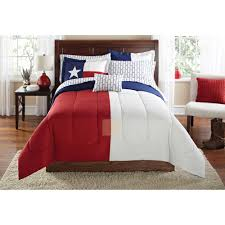 Sheet Sets Twin Xl Mainstays Texas Star Bed In A Bag Coordinated Bedding Set
