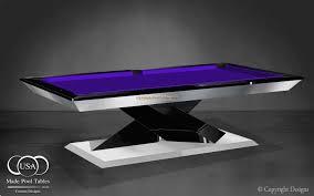 Custom Pool Tables by Custom Pool Tables Modern Pool Tables Contemporary Pool Table