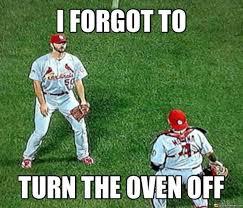 Baseball Memes - cardinals baseball errors meme