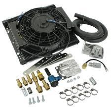 oil cooler fan kit empi 9248 mesa tru cool 96 plate full flow oil cooler kit w electric