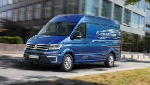 new volkswagen bus electric vw completes launch of new crafter commercial van range sae