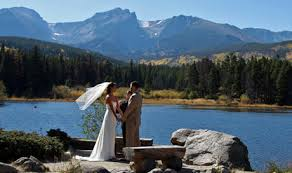 affordable wedding venues in colorado estes park wedding officiant elopement wedding packages