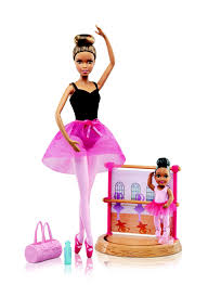 barbie ballet instructor play working stage dvg16 barbie