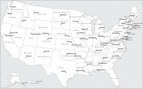 Map Of The United States Capitals by Locate States And Capitals How Many States And Capitals Did You