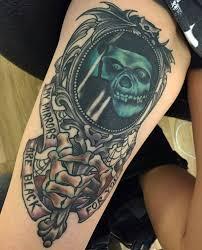 125 kick skull tattoos for