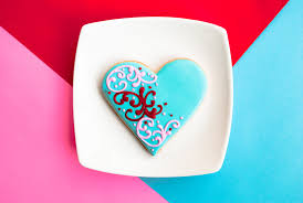Blue And Red Color Combination by Color Inspiration Heart Sugar Cookies For Valentine U0027s Day