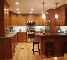 stained wood kitchen cabinets 2019 kitchen cherry stained wood cabinets and island counter top