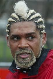 football hairstyles what is the worst hairstyle by an active football player during his