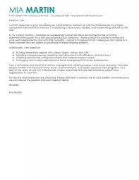 Best Administrative Resume by Sample Cover Letter Admin Cover Letter For Administrative